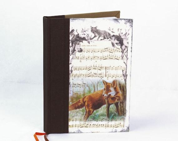Carnet de chasse souvenirs chasse Le renard tableau de chasse cadeau chasseurs chasseresses