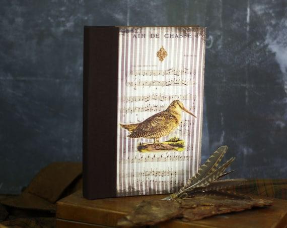 Cadeau chasseurs chasseresses carnet de chasse la bécasse cadeau personnalisé passionné de chasse cadeau Noël