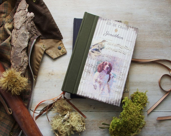 The hunting book to customize the name of the Hunter or Huntress dog hunting and thrush