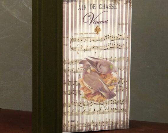 Chasse  carnet de chasse Pigeon colombin et ramier cadeau chasseur chasseresses