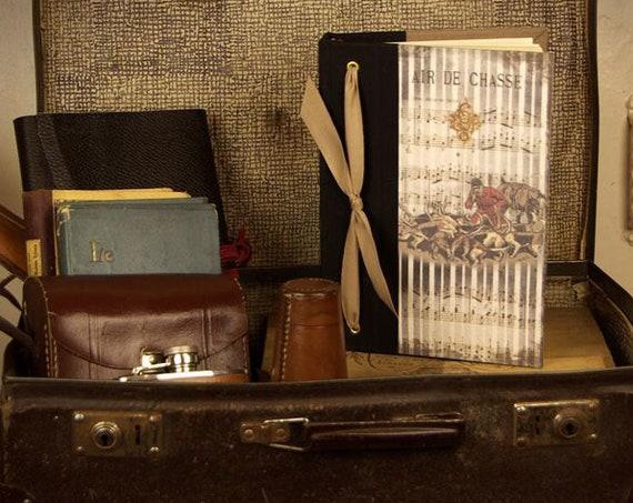 cadeau chasse répertoire téléphonique cadeau original style vénerie cavalier cadeau Noël