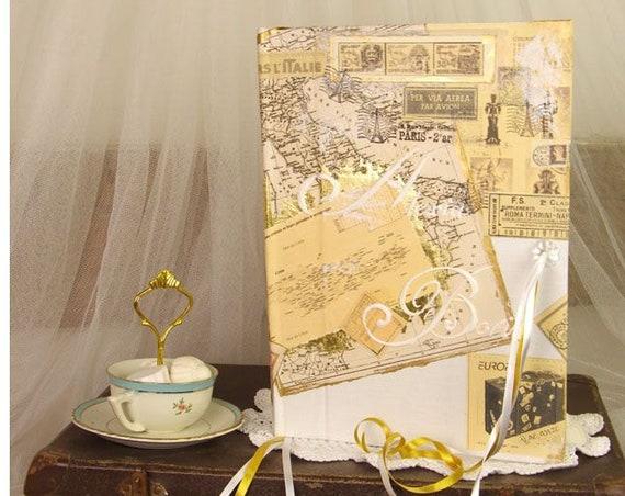 Livre d'or mariage voyages personnalisé Livre d'or idées, livre d'or aventures  livre d'or cadeau carnet de route livre d'or