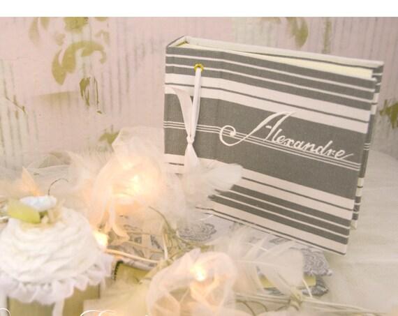 cadeau naissance Album photo bébé unisexe cadeau personnalisé souvenirs de famille