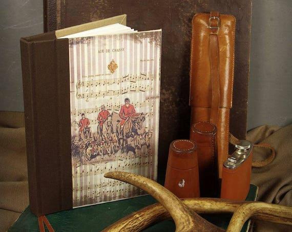 Chasse Carnet de chasse Les chevaliers  chasseur chasseresse chasse au bois vénerie chasse à courre Cadeau