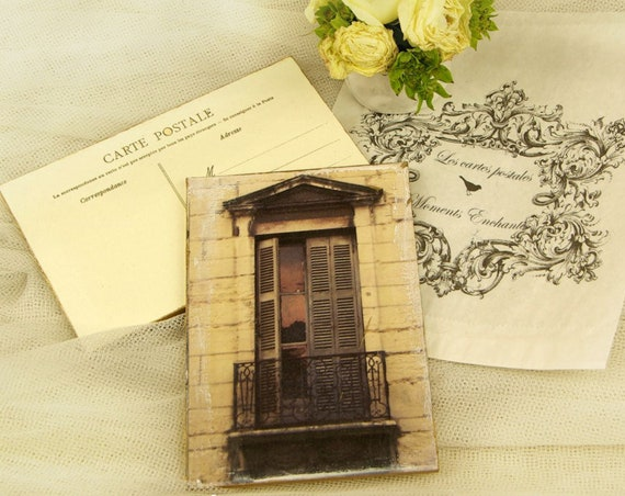 """Carte postale France Dijon """"La fenêtre"""" carterie artistique"""