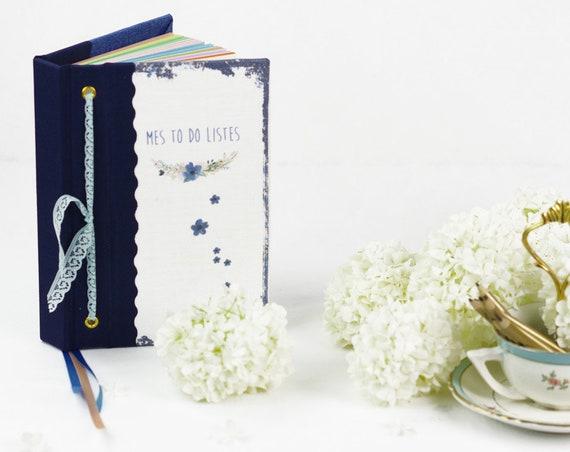 Carnet de notes personnalisé ou pas organiseur to do list  cadeau voyage