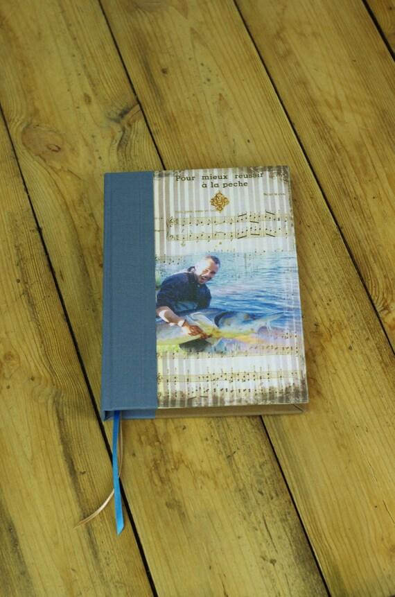 Carnet de pêche personnalisé, sport outdoor, brochet carpe, truite sandre, lamproie breme, cadeau pour pêcheurs cadeau Saint Valentin