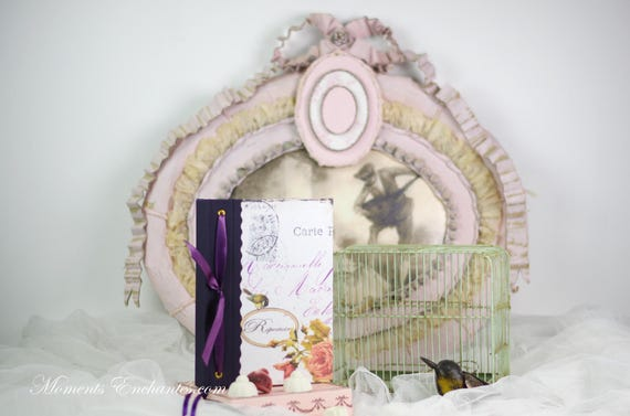 Telephone book's Mademoiselle  vintage shabby mothers' Day