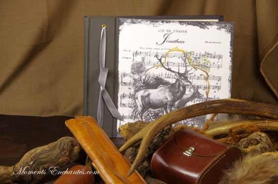 Hunting album photo roe deer hunter huntress gift