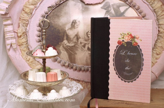 Telephone book the Tea time  vintage shabby chic