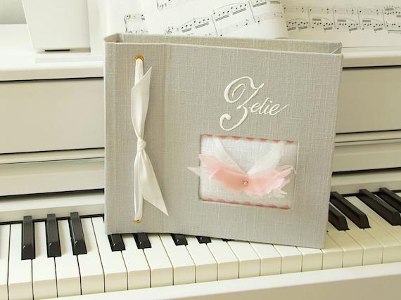 """album photo de naissance """" Les ailes d'un ange """" fille ou garçon"""