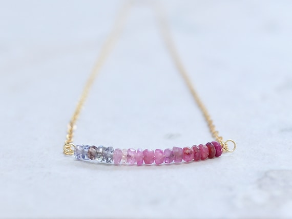 Solid gold : Ruby Necklace