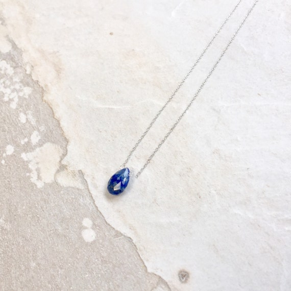 14K Lapis Lazuli Necklace
