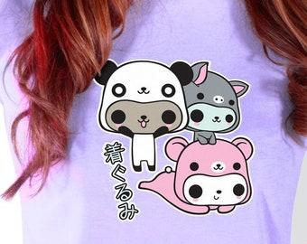 4fbf32db5 SALE Kigurumi Kitties T-Shirt