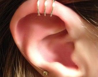 Triple Ear cuff - 3 Ring Ear Cuff - Helix Ear Cuff - Triple Earcuff - Ear Cuff - Ear Cuffs - Earcuff