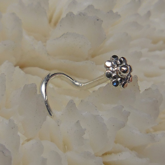 Sterling Nose Stud 3 5mm Nose Jewelry Nose Ring Nose Stud Etsy