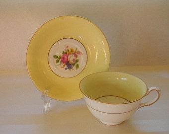 TEACUP, Vintage Taylor & Kent, Bone China Teacup