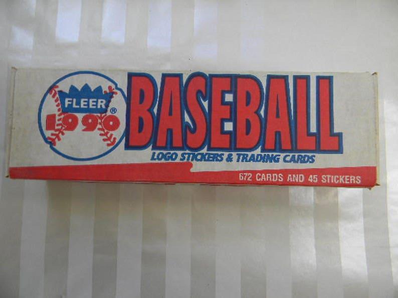 1990 Fleer Baseball Sports Cards Factory Set Unopened