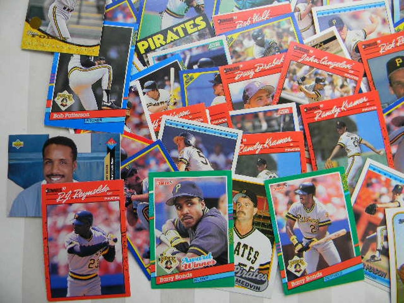 1986-1993 105 PITTSBURGH PIRATES Sports Cards