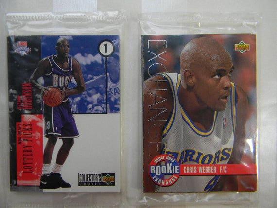 2 Unopened Upper Deck Basketball Sets Rookie Exchange Draft Trade 1990s Basketball