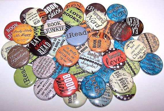 Pin Back Button 3 BOOKS