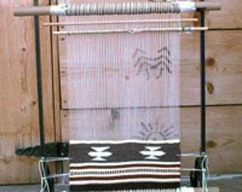 Medium Metal Navajo Weaving loom