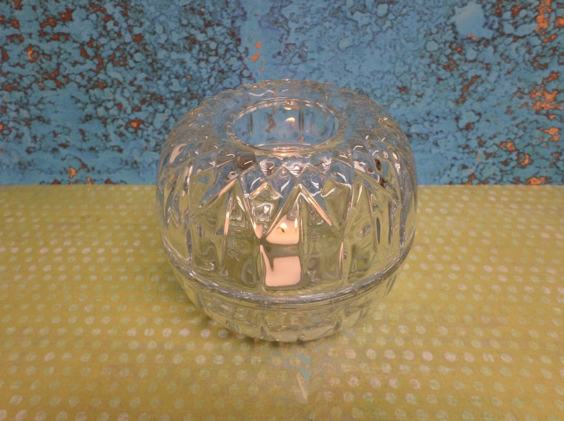 Candle Holder Buffet Fairy Lamp Patio HOMCO Sparkling Clear FREE SHIPPING!