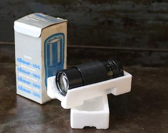 Vintage Super Albinar ADG 80-200mm 1:3.9 MC Macro Auto Zoom Lens with Original Box