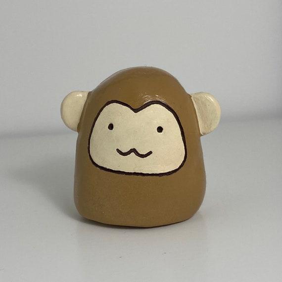 Handmade Fruits Basket Monkey figure