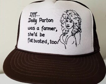92e298dc vintage 80s Dolly Parton trucker hat Kolbi Jean country adjustable funny  offensive