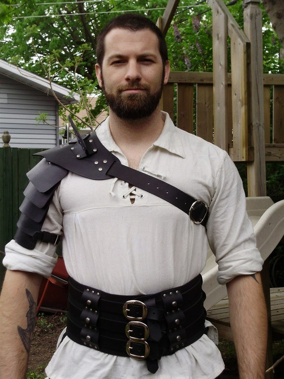 sc 1 st  Etsy : leather gladiator costume  - Germanpascual.Com