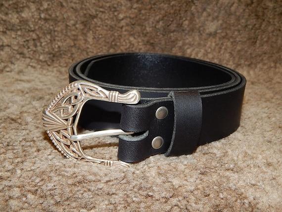 Yours Clothing Donna Marrone Cucito Cintura con chiusura con fibbia Pin