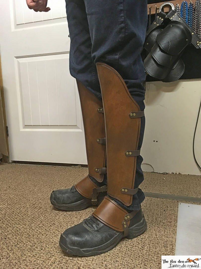 Viking leather bracer damage option 6/'/' - 8/'/' - 11/'/' multiple size available