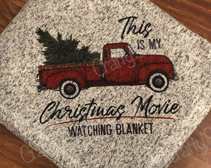Featured listing image: Christmas Movie Watching Blanket