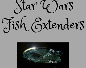 Star Wars Themed Fish Extenders