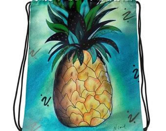 Pineapple Lyfe Drawstring bag