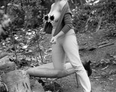 60's Outdoor busty br...