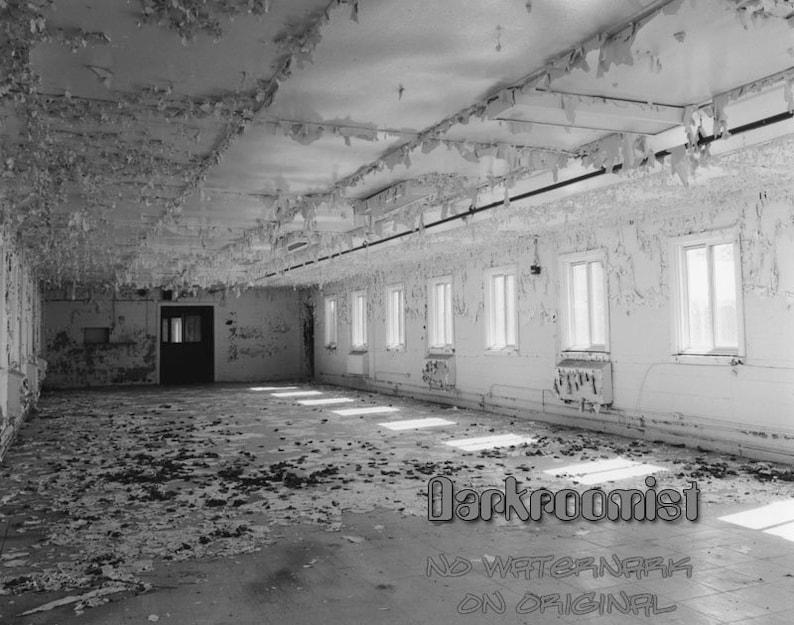 Camp Pellston Prison 8x10 silver gelatin print image 0
