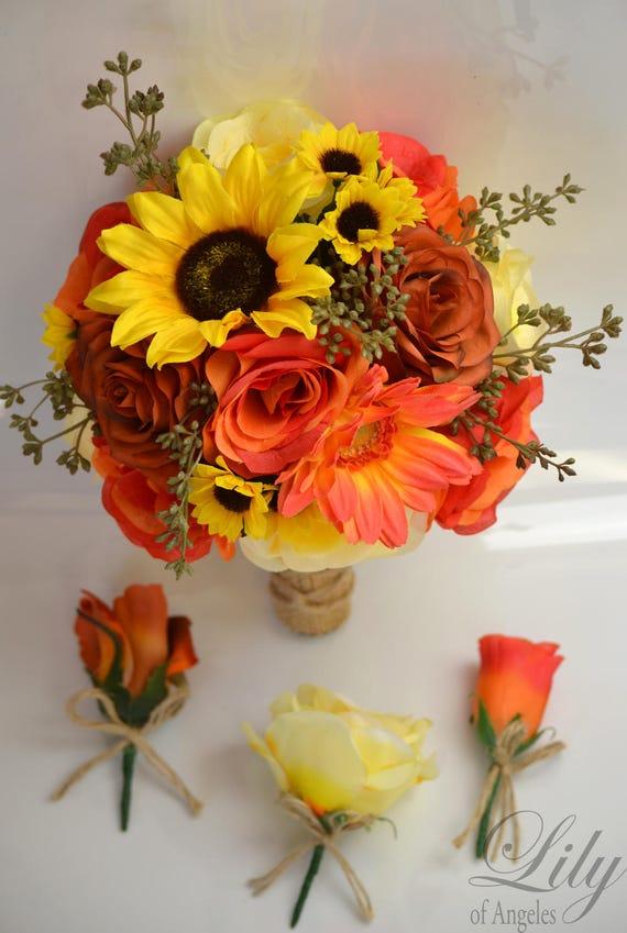 Hochzeit Blumenstrauß Brautstrauß Brautjungfer Bouquet | Etsy