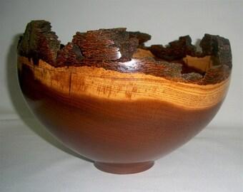 Fruitless Mulberry Bark Edge Bowl,  #637