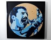 Freddie Mercury of Queen ...