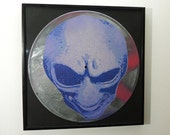 "Alien art on 12"" vinyl record - limited numbered edition of 33 - framed or unframed"