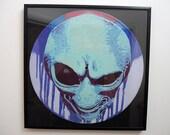 Alien Art Stencil Vinyl R...