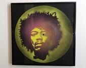 Jimi Hendrix spray paint ...
