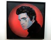 Elvis Presley stencil art...