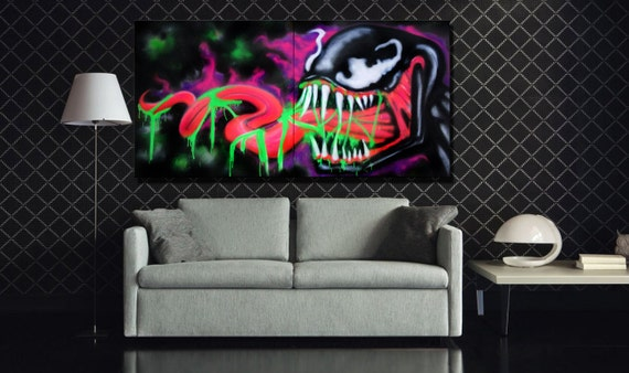 Black Light Venom Graffit...