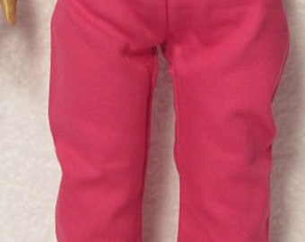 18 Inch Doll Hot Pink Jeans Fits American Girl Doll On Sale