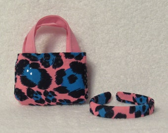 18 Inch Doll Tote Bag and Matching Headband