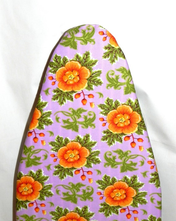 TABLETOP Ironing Board Cover Lavender Purple And Orange | Etsy