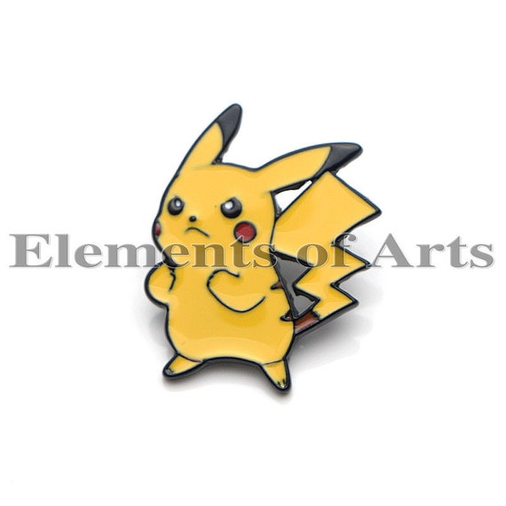 Pikachu Pokemon Enamel /& Metal Pin Badge Cartoon Cute Retro UK Seller